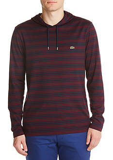 Lacoste Long Sleeve Stripe Hoodie