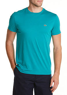 Lacoste Short Sleeve Pima Jersey Crew Neck T-Shirt