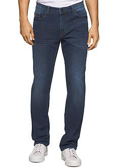 Calvin Klein Jeans Slim Fit Straight Leg Streak Stone Jeans
