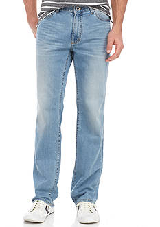 Calvin Klein Jeans Straight Streak Chill Wash 5-Pocket Jeans