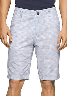 Calvin Klein Jeans 10.5-inch Grid Shorts