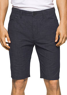 Calvin Klein Jeans Crosshatch 5-Pocket Shorts