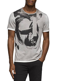Calvin Klein Jeans Short Sleeve Stroked Spray Graphic Tee