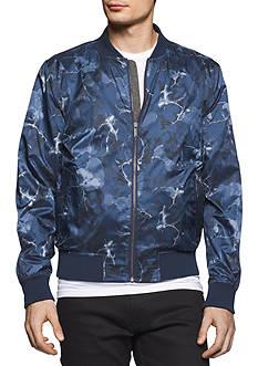Calvin Klein Jeans Floral Bomber Jacket