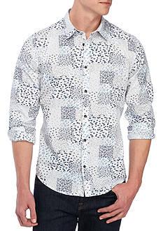 Calvin Klein Jeans Long Sleeve Spring Botanical Print Shirt