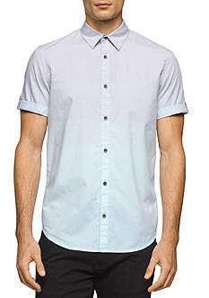 Calvin Klein Jeans Short Sleeve Ombre Place Stripe Shirt