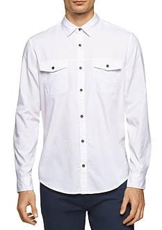Calvin Klein Jeans Long Sleeve Rollup Shirt