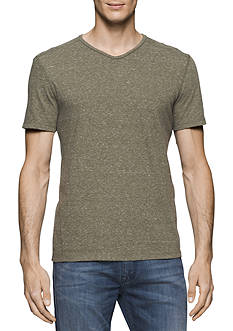 Calvin Klein Jeans Short Sleeve Basic Modern Slub V-Neck T-Shirt
