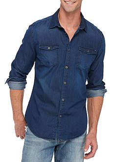 Calvin Klein Jeans Long Sleeve Basic Denim Shirt