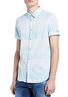 Calvin Klein Jeans Short Sleeve Horizontal Block Stripe Shirt