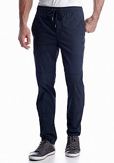 Calvin Klein Jeans Snappy Poplin Travel Pants
