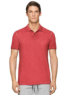 Calvin Klein Jeans Short Sleeve Pigment Dyed Polo