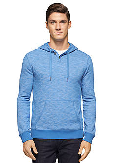 Calvin Klein Jeans Spacedye French Terry Henley Hoodie