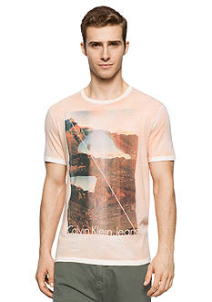 Calvin Klein Jeans Short Sleeve Desert Valley Graphic Tee