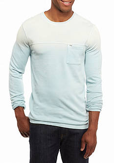 Calvin Klein Jeans Colorblocked Beach Punk Long-Sleeve T-Shirt