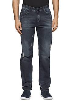 Calvin Klein Jeans Slim Fit Straight Leg Jeans