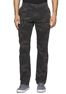 Calvin Klein Jeans Printed Camo Cargo Pants
