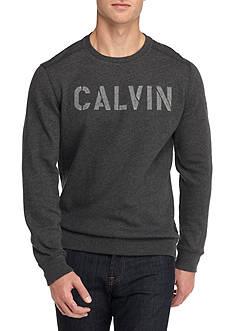 Calvin Klein Jeans Needle Punch Calvin Army Crewneck Tee