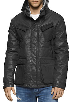 Calvin Klein Jeans Sherling Avaitor Jacket