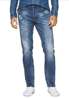 Calvin Klein Jeans Slim Straight Leg Jeans