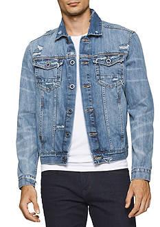 Calvin Klein Jeans Destructed Sky Jacket