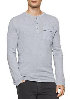 Calvin Klein Jeans Long Sleeve Surplus Henley Top