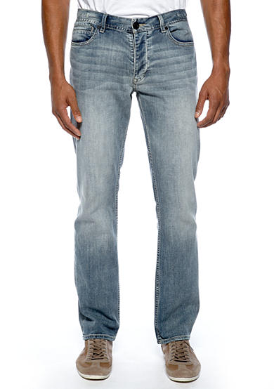 Calvin Klein Jeans Light Wash Slim Fit Straight Leg Jeans