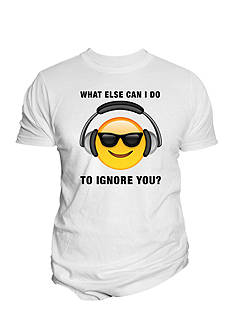 Changes Emoji Ignore You Sunglasses Tee