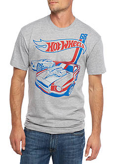 Short Sleeve Hot Wheels Graphic Tee