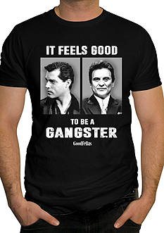 Changes Short Sleeve GoodFellas Gangster Graphic Tee