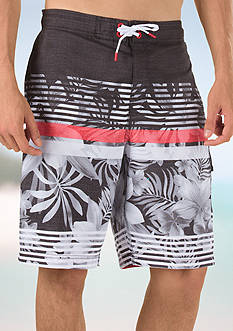 speedo Underline Flora E-Boardshorts