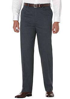 Savane Big & Tall Performance Chino Flat Front Wrinkle-Free Pants