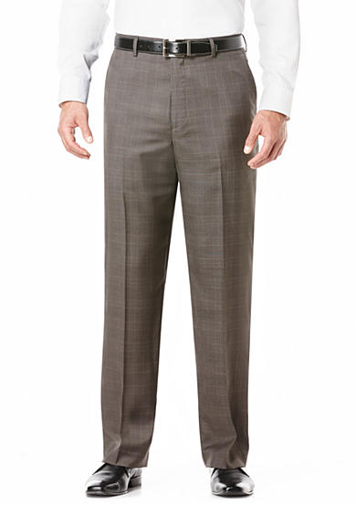 Savane® Classic-Fit Flat-Front Non-Iron Pants