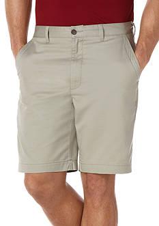 Savane Eco-Start® 8 Twill Flat Front Shorts