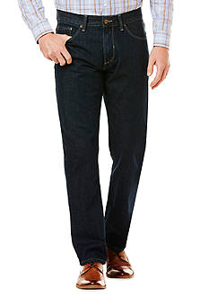 Savane® 5-Pocket Straight Fit Jeans