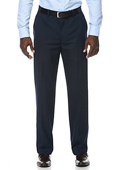 Savane® Travel Intelligence Classic Fit Navy Mini Houndstooth Suit Separate Pants