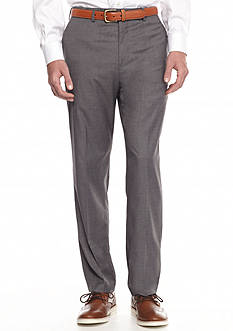Savane® Premium Flex Flat-Front Dress Pants