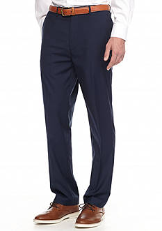 Savane® Premium Stretch Flex Flat-Front Dress Pants