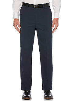 Savane® Straight-Fit Eco-Start Flat-Front Wrinkle-Resistant Pants