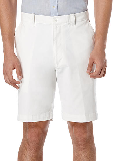 Savane® Premium Flex 9-Inch Twill Stretch Shorts