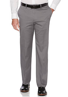 Savane Flat Front Stretch Ultimate Performance Chino Pants
