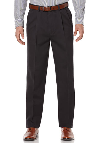 Savane® Pleated Stretch Ultimate Performance Chino