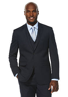 Savane Travel Intelligence Classic Fit Houndstooth Suit Separate Jacket