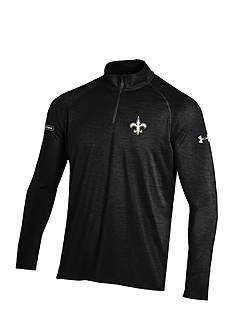 Under Armour New Orleans Saints NFL Twist Tech 1/4 Zip Shirt