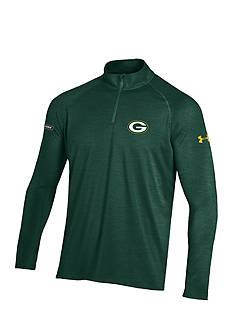 Under Armour Green Bay Packers NFL Twist Tech 1/4 Zip Shirt
