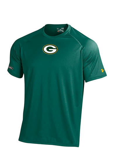 Under Armour® Green Bay Packers NFL Primary Logo Tech Short Sleeve Tee