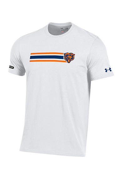 Under Armour® Chicago Bears NFL Stripe 60/40 Tee Shirt