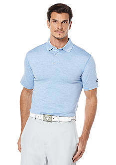 Callaway® Golf Fashion Heather Solid Polo Shirt