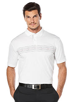Callaway® Golf Dotted Chest Print Flash Polo Shirt