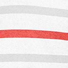 Callaway Golf Men Sale: Bright White/High Red Callaway Golf Heather Fashion Stripe Polo Shirt